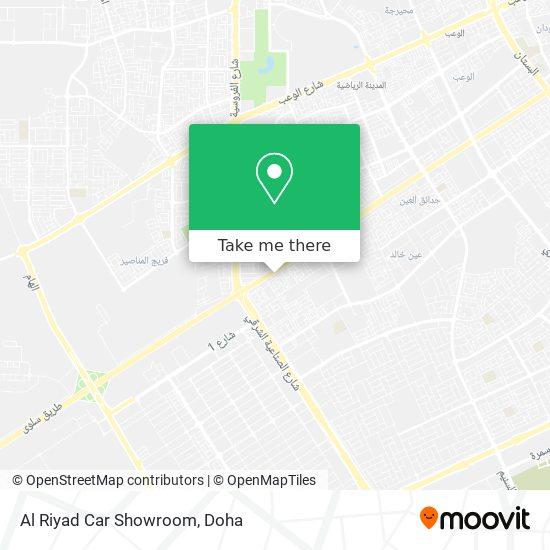 Al Riyad Car Showroom map