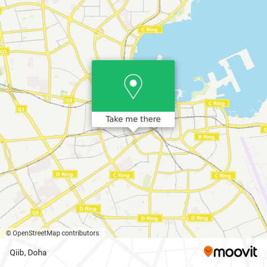 Qiib map