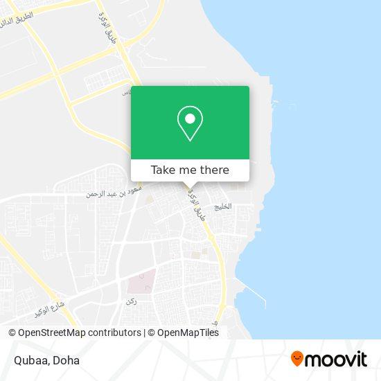 Qubaa map