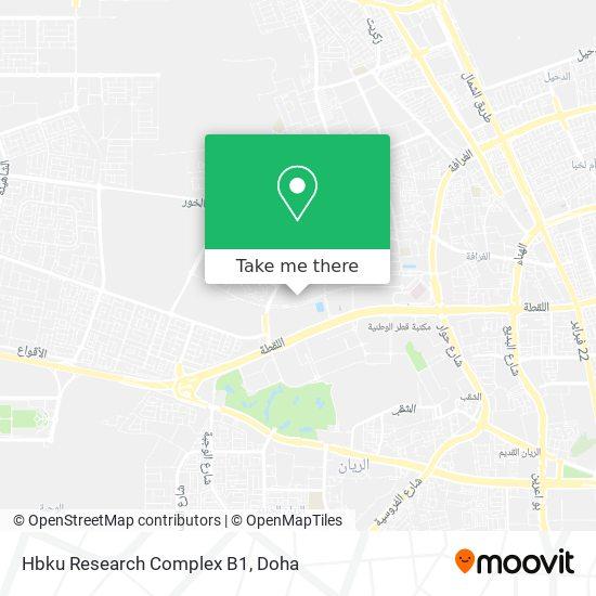 Hbku Research Complex B1 map