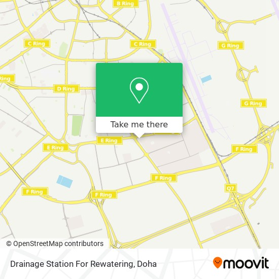 Drainage Station For Rewatering map