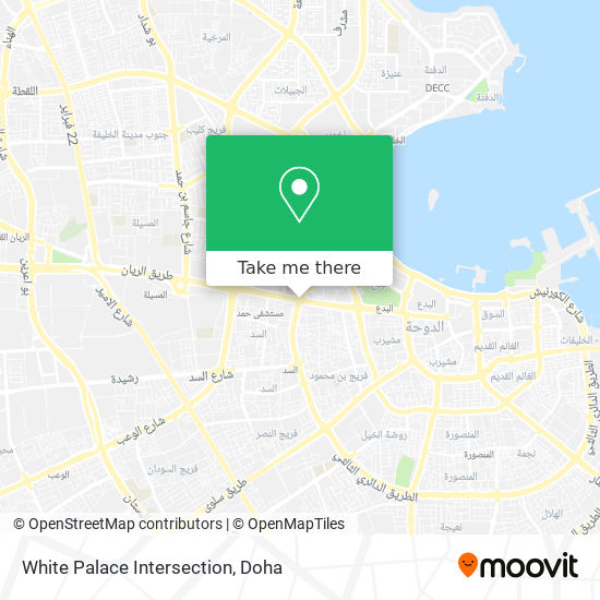 White Palace Intersection map