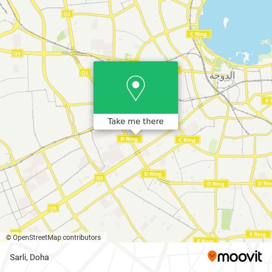 Sarli map