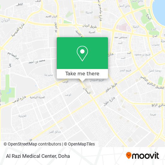 Al Razi Medical Center map