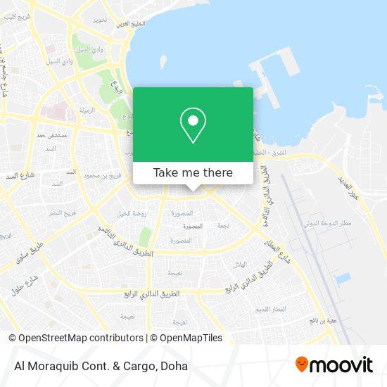 Al Moraquib Cont. & Cargo map