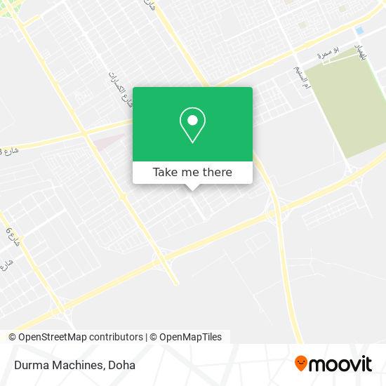 Durma Machines map