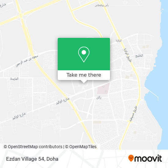 Ezdan Village 54 map