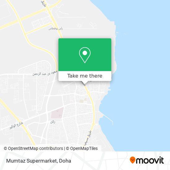 Mumtaz Supermarket map