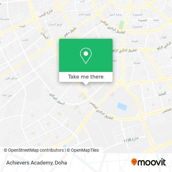Achievers Academy map
