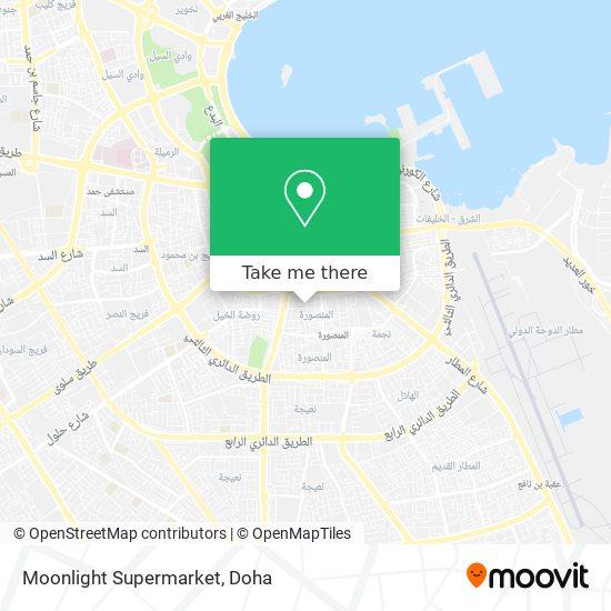 Moonlight Supermarket map