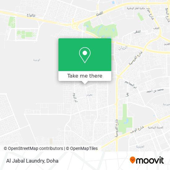 Al Jabal Laundry map
