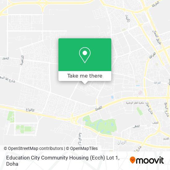 Education City Community Housing (Ecch) Lot 1 map