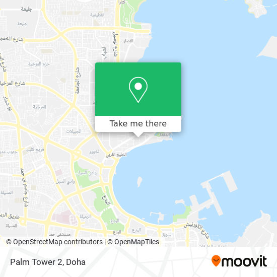 Palm Tower 2 map