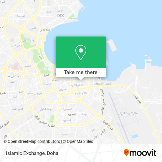 Islamic Exchange map