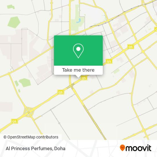 Al Princess Perfumes map