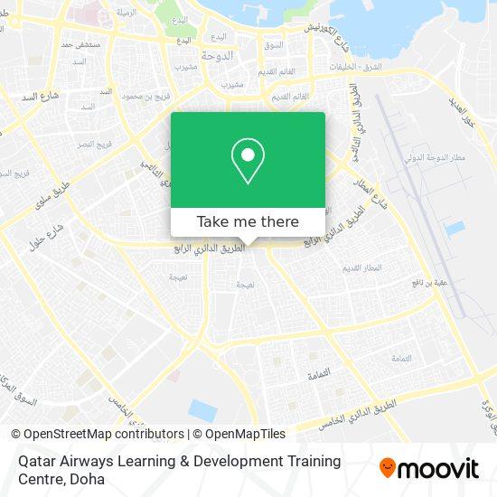 Qatar Airways Learning & Development Training Centre map