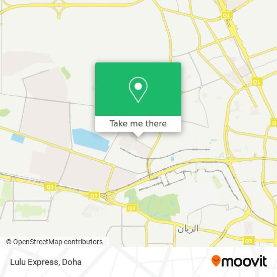 Lulu Express map