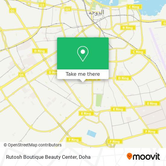 Rutosh Boutique Beauty Center map