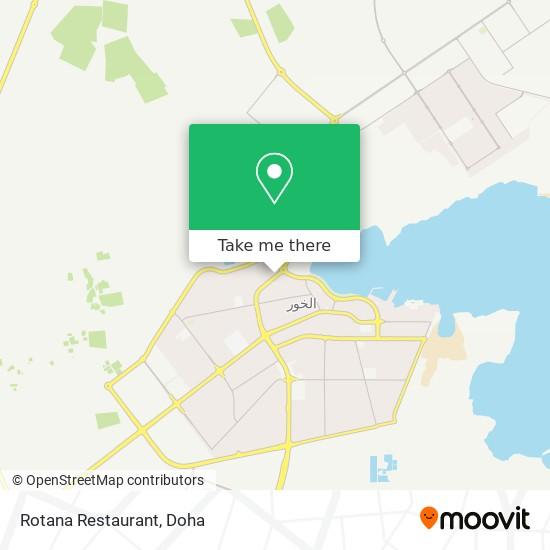 Rotana Restaurant map