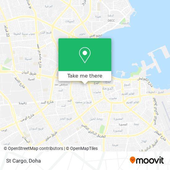 St Cargo map