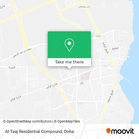 Al-Taaj Residential Compound map