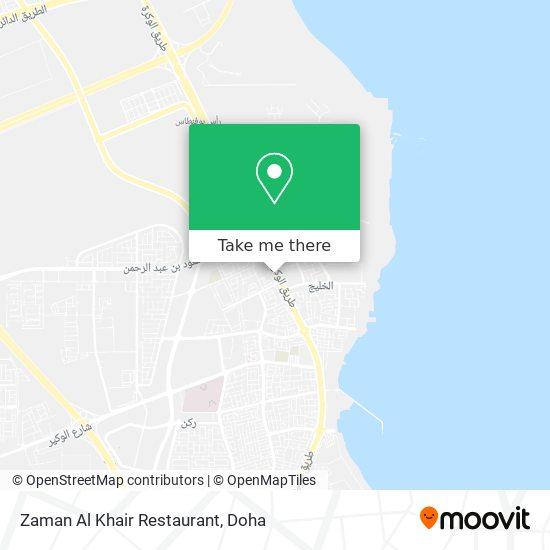 Zaman Al Khair Restaurant map