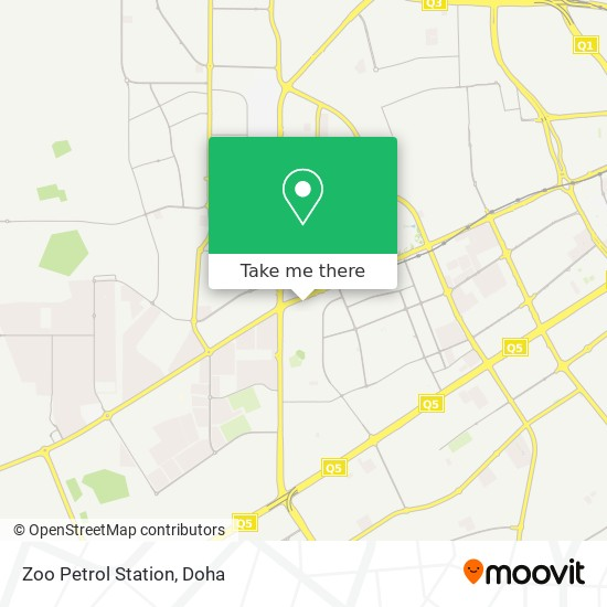 Zoo Petrol Station map
