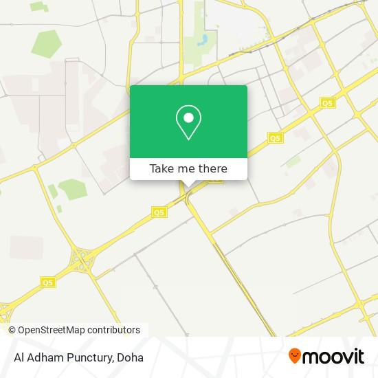 Al Adham Punctury map