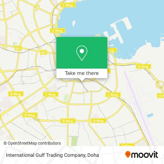 International Gulf Trading Company map