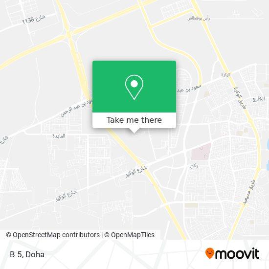 B 5 map