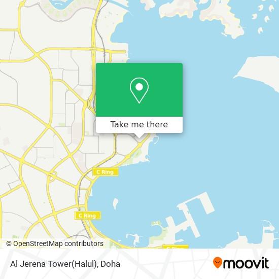 Al Jerena Tower(Halul) map
