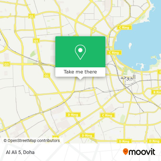 Al Ali 5 map