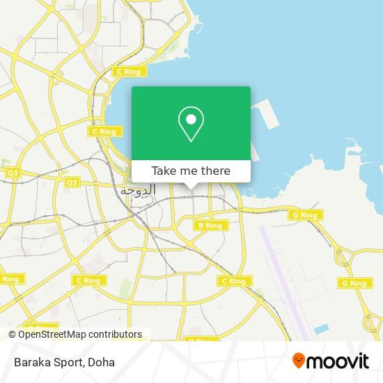 Baraka Sport map