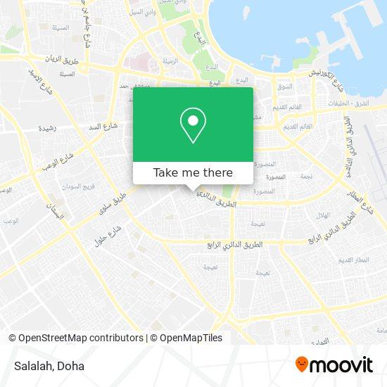 Salalah map
