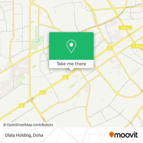 Dlala Holding map