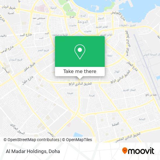 Al Madar Holdings map