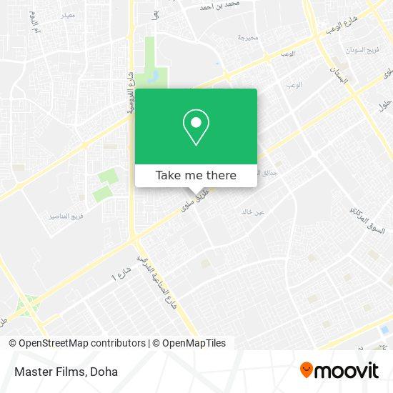 Master Films map
