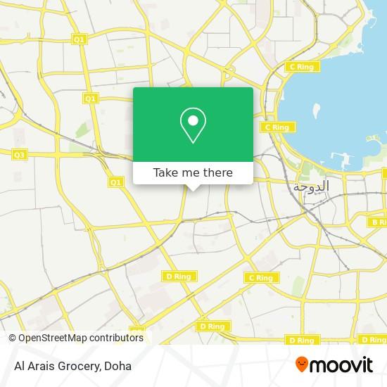Al Arais Grocery map