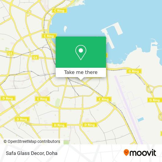 Safa Glass Decor map