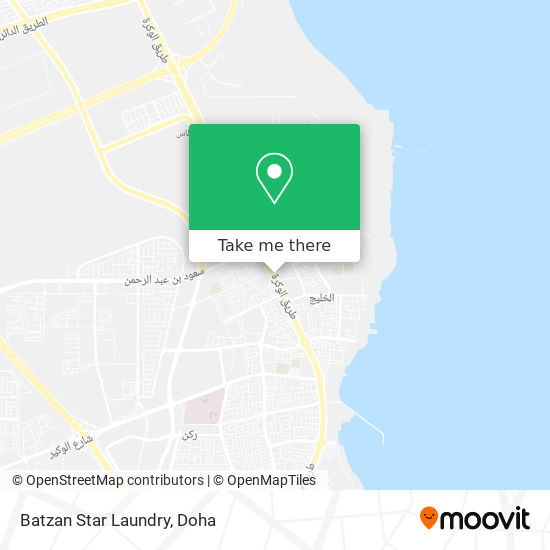 Batzan Star Laundry map