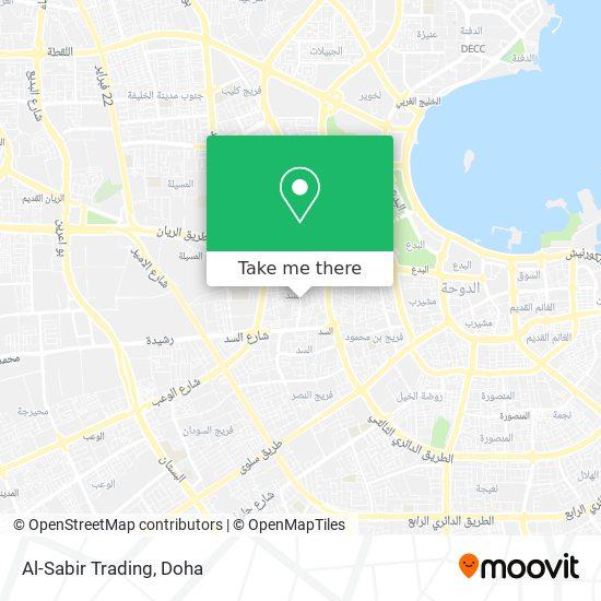 Al-Sabir Trading map