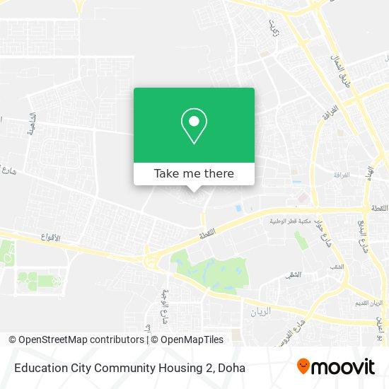 Education City Community Housing 2 map