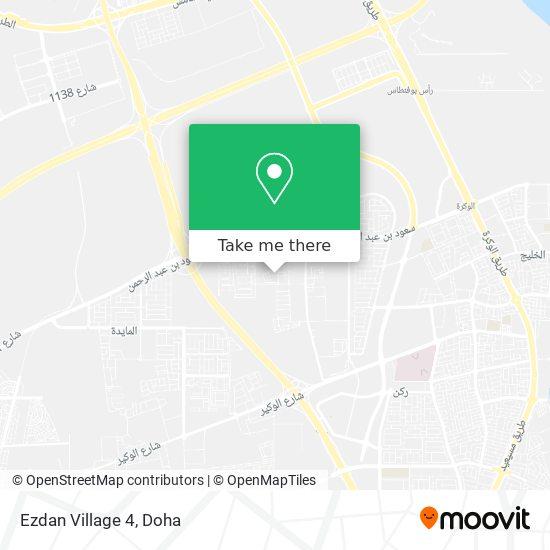 Ezdan Village 4 map