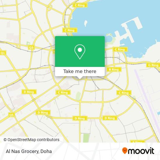 Al Nas Grocery map