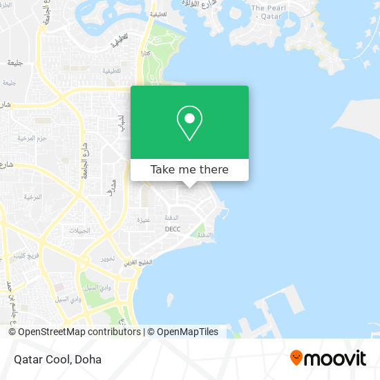 Qatar Cool map