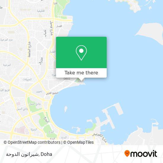 Sheraton map