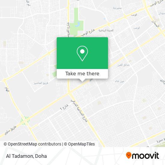 Al Tadamon map