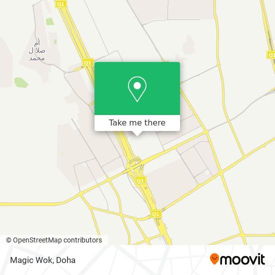 Magic Wok map