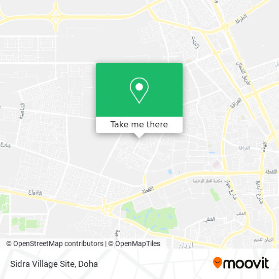 Sidra Village Site map