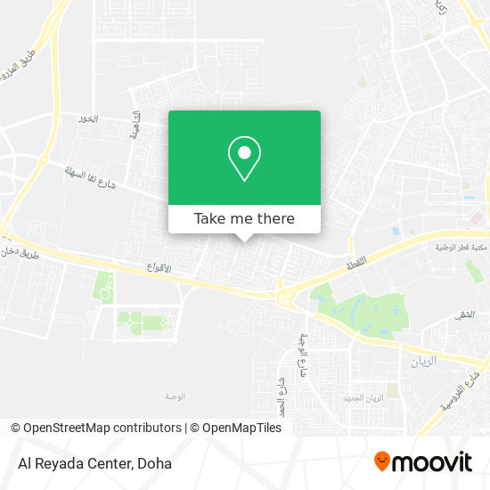 Al Reyada Center map